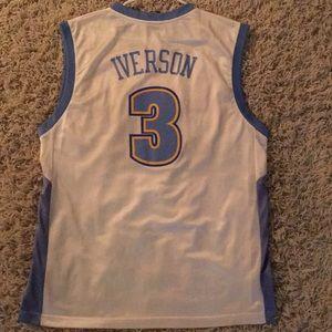 adidas Other - Allen Iverson Denver Nuggets NBA Jersey  3 84828015e